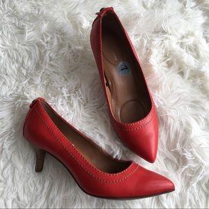 New! Red Calvin Klein Pumps Size 7